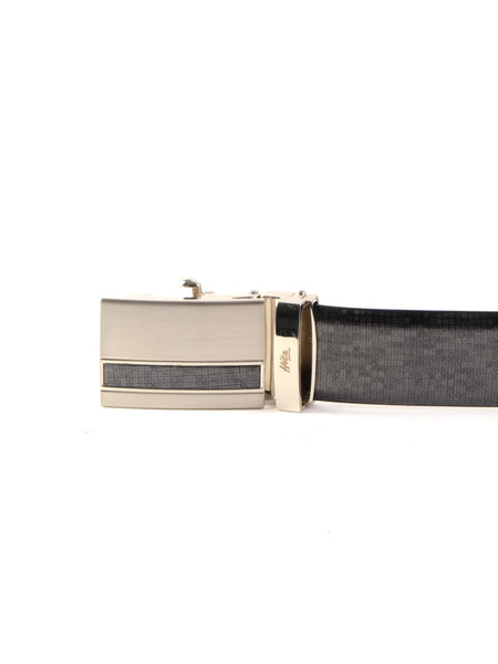 AL-901 GREY LEATHER BELT