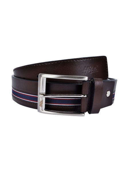 BS030 BELT BROWN LEATHER BELTS