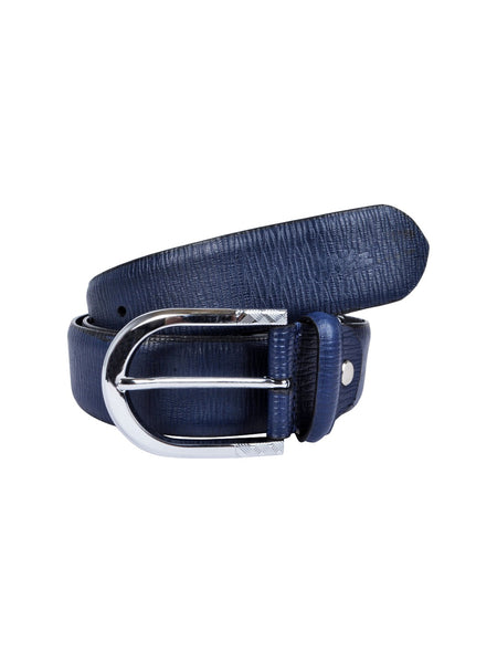 BS-305 NAVY LEATHER BELTS