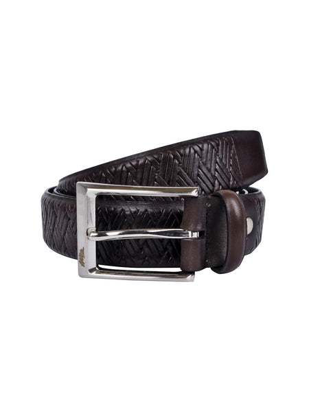 BS405 BROWN LEATHER BELT