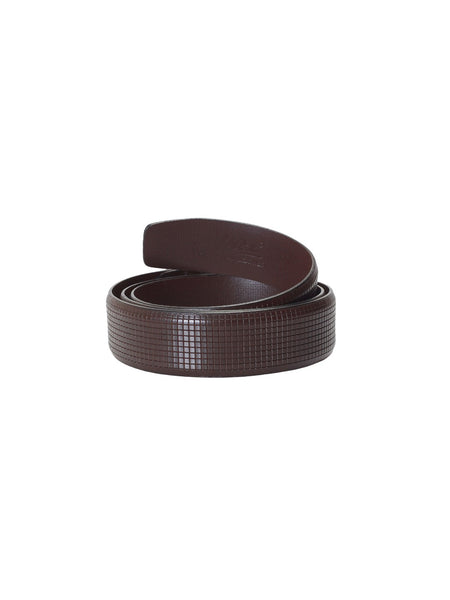 CFTD-12 BROWN LEATHER BELT