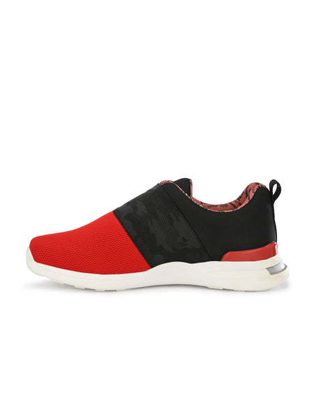 TAG - 209 BLACK & RED WALKING SHOES