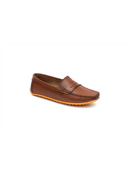 FLIPY F-53 TAN LEATHER SHOES