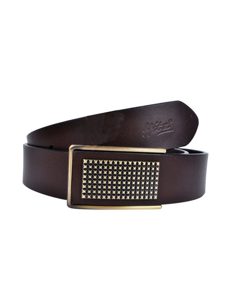 IT-136 BROWN LEATHER BELTS