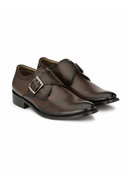 GROUP E (MONK SHOE) - 3112 BROWN