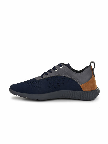 SPORTY S-2 BLUE+TAN SHOES