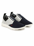 SPORTY S-4 BLUE+WHITE SHOES