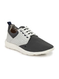 SPORTY S-4 GREY+WHITE SHOES