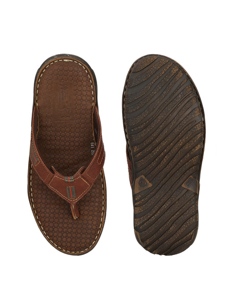VICTOR - 207 BROWN MILD LEATHER SLIPPERS