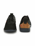 SPORTY S-3 BLACK+TAN SHOES