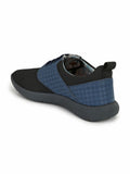 SPORTY S-4 BLACK+BLUE SHOES