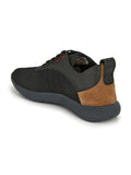 SPORTY S-2 BLACK+TAN SHOES