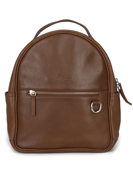 BACKPACK TAN LEATHER BAGS