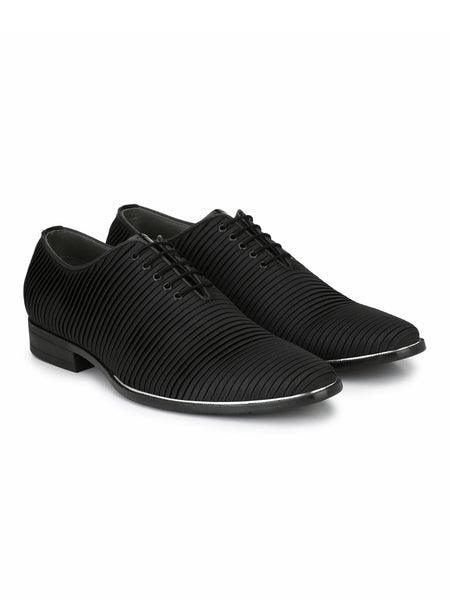 TULIP - 5905 BLACK LEATHER SHOES