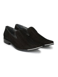 METALICO - 6966 BLACK LEATHER SHOES