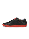 ALVISH SN-1 BLACK LEATHER SHOES