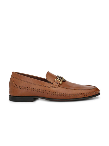 MARIA - 4201 TAN LEATHER SHOES FOR MEN