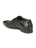 PAULO - 6406 BLACK LEATHER SHOES