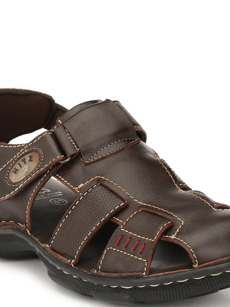 NEW DRAGON - 9224 BROWN SANDALS