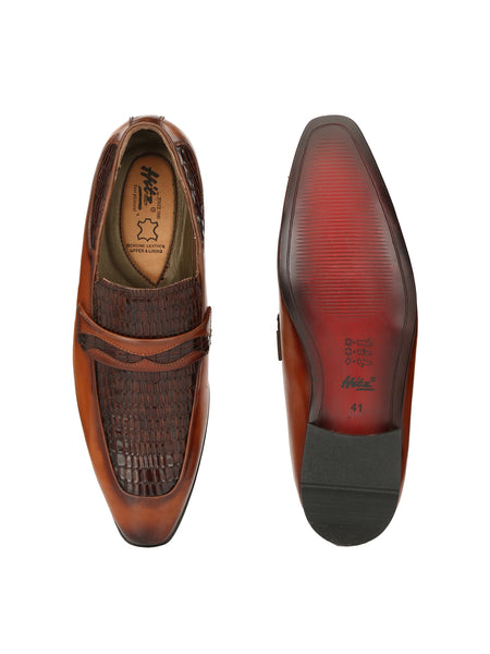PAULO - 6409 TAN LEATHER SHOES