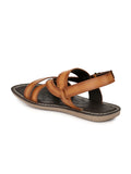 NATHAN - 9702 TAN SANDALS