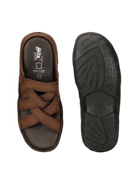 DRAGON - 9295 TAN SLIPPERS