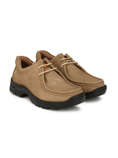 NEW DARBAN - 2651 CAMEL LEATHER SHOES