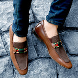 LINDO - 5214 BROWN LEATHER SHOES