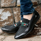 LINDO - 5214 BLACK LEATHER SHOES