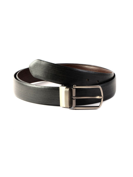 RB-35(P) BLACK/BROWN LEATHER BELTS