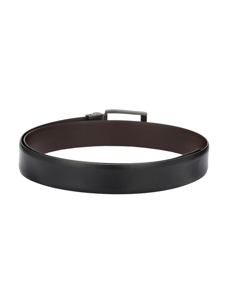 RB-5213 BLACK/BROWN LEATHER BELTS