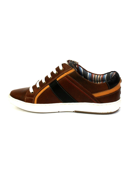 SNEAKERS SN -1 TAN+BLACK
