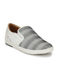 ALVISH SN-3 WHITE LEATHER SHOES