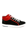 SNEAKERS SN -5 BLACK+RED