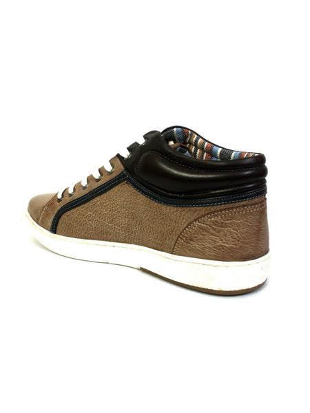 SNEAKERS SN -5 BROWN+COCO+BLUE