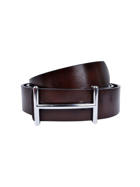 ST-35(H2) BROWN LEATHER BELTS
