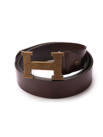 ST-40(H1) BROWN LEATHER BELTS