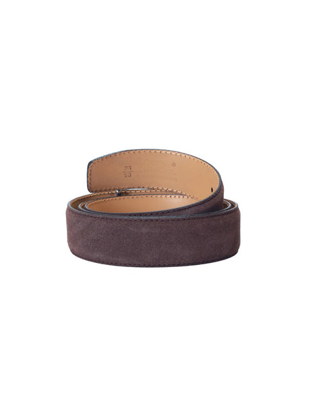 SUEDE BROWN LEATHER BELTS