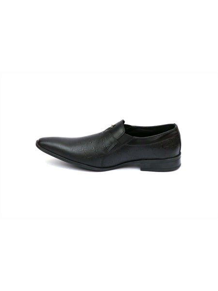 PHILIPY T-21 BLACK LEATHER SHOES