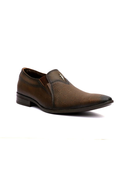 PHILIPY T-21 BROWN LEATHER SHOES