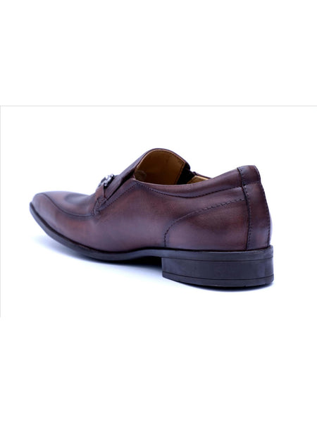 PHILIPY T-23 BROWN LEATHER SHOES