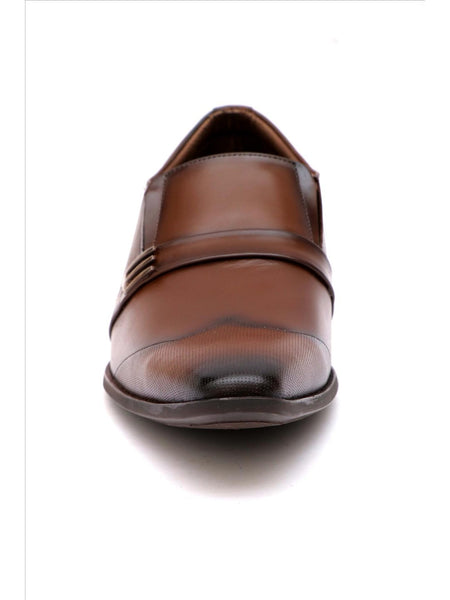 PHILIPY T-25 BROWN LEATHER SHOES