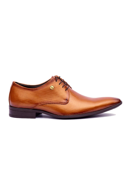 PHILIPY T-2 BROWN MATRIX LEATHER SHOES