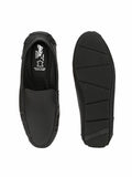 W-2 BLACK LEATHER LOAFERS