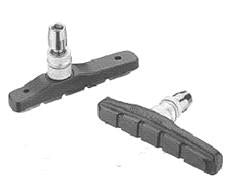 Brake Shoes For V Brake Length 72mm 1596