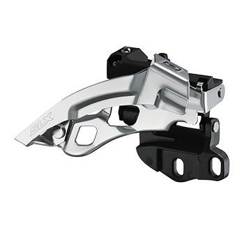 Shimano SLX FD-M670-A-E Top-Swing Front Derailleur 3x10 for BB Mount (without BB-Plate) - black