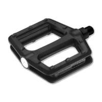 Pedals 1 pce nylon black body 9/16