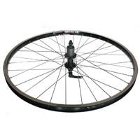 26' x 1.75 Alex DM18 Alloy d/w 8 speed disc Mach 1 black cassette wheel