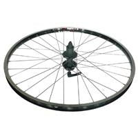 26' x 1.75 Alex DM18 Alloy d/w 8 speed disc Mach 1 cassette wheel - black 93796