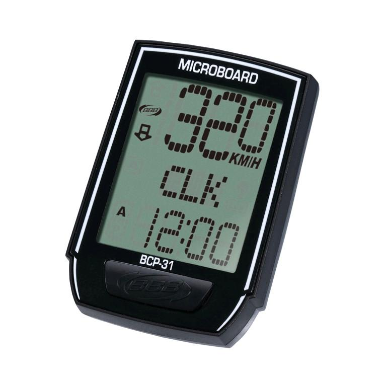 BBB Microboard 8 Function Bike Computer - Wireless